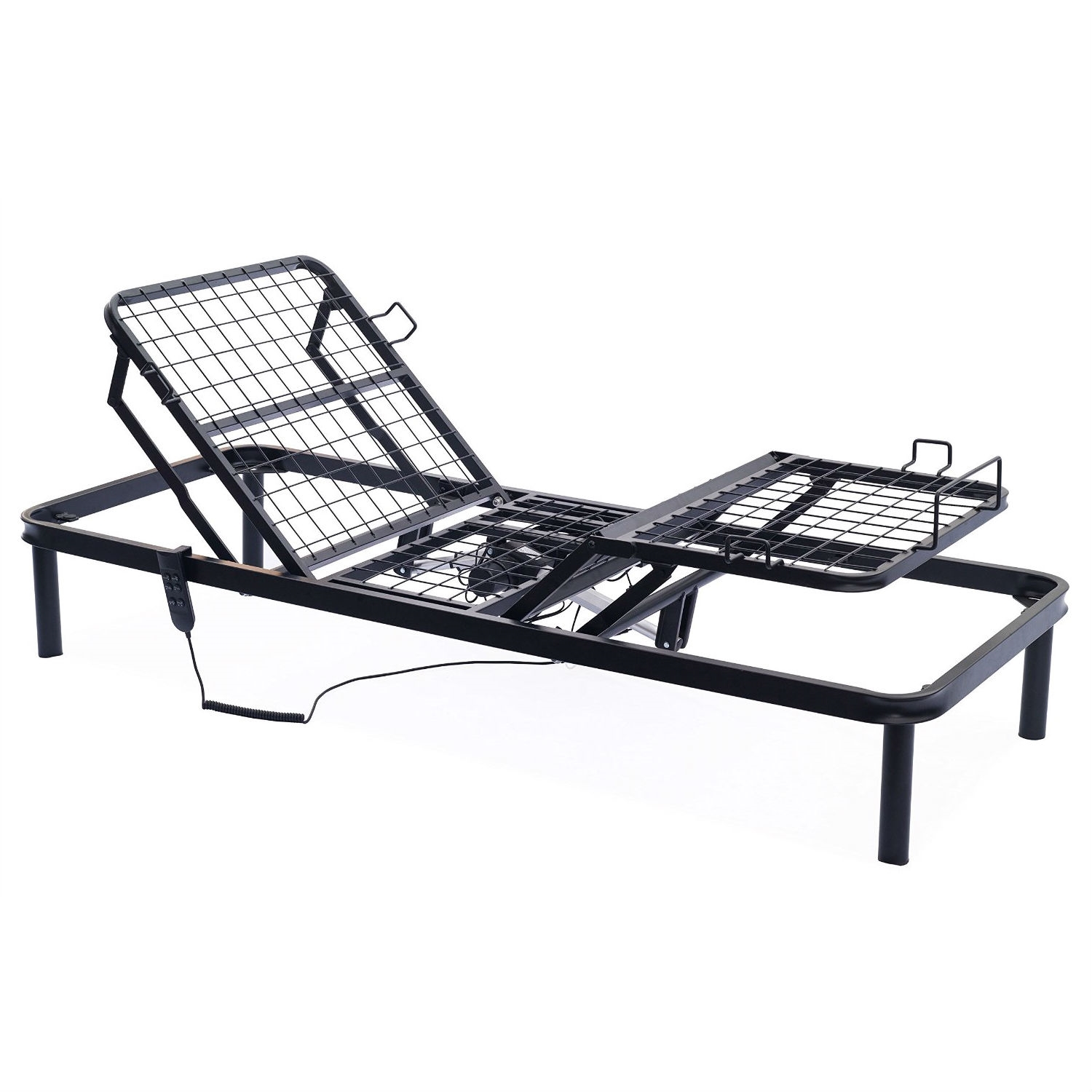 Twin XL Metal Adjustable Bed Frame with Remote | FastFurnishings.com