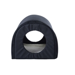 Heated Outdoor Cat House Mod in Black