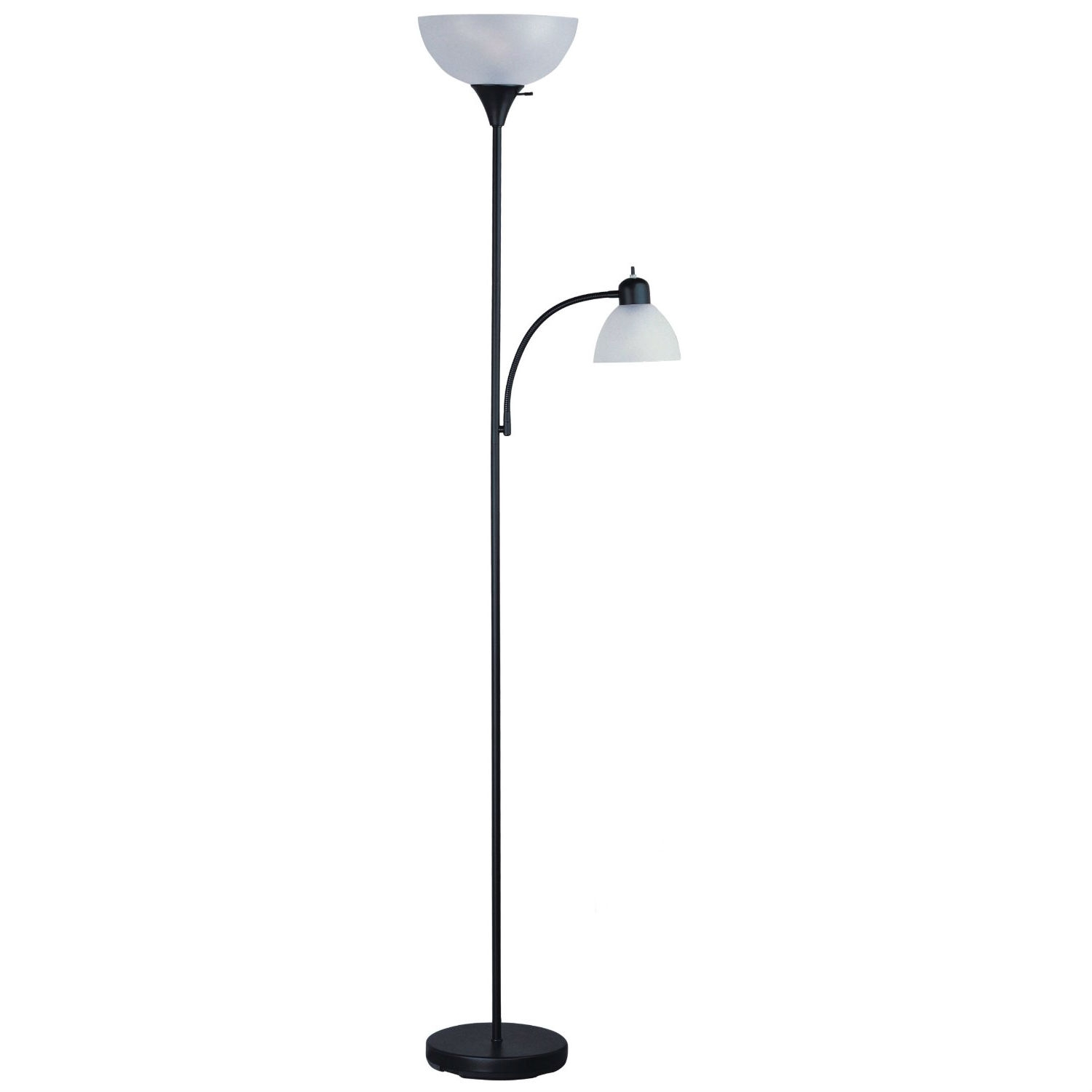 72 Inch Tall Black Floor Lamp With