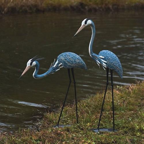 Blue Heron Statue 18