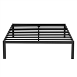 Full size 16-inch High Heavy Duty Metal Platform Bed Frame