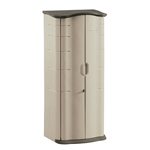 Heavy Duty Vertical Outdoor Cabinet Weather Resistant Storage Shed