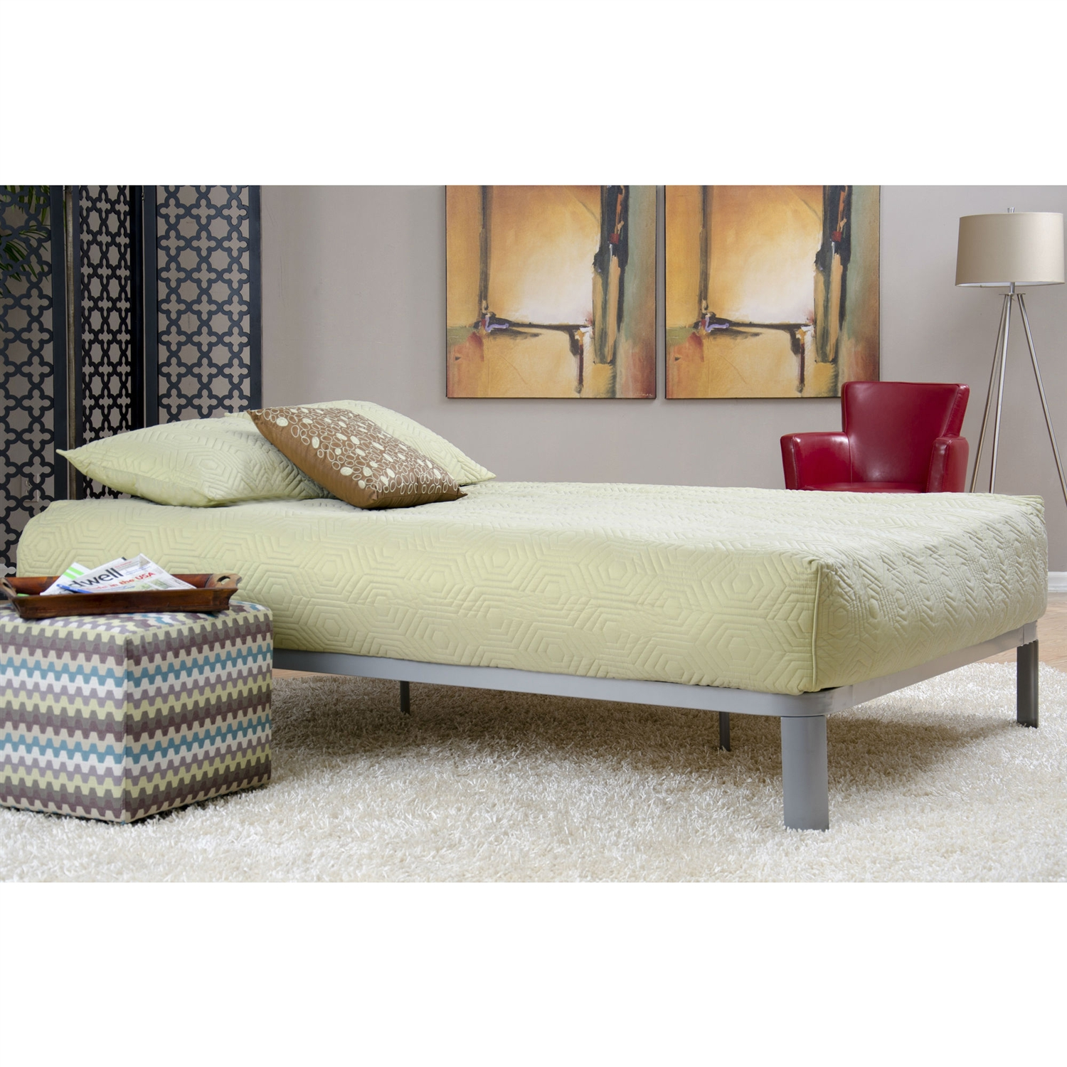 retail price 29900 - Wood Slat Bed Frame Queen