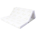 Queen size 6-inch Folding Memory Foam Mattress with Washable Cover