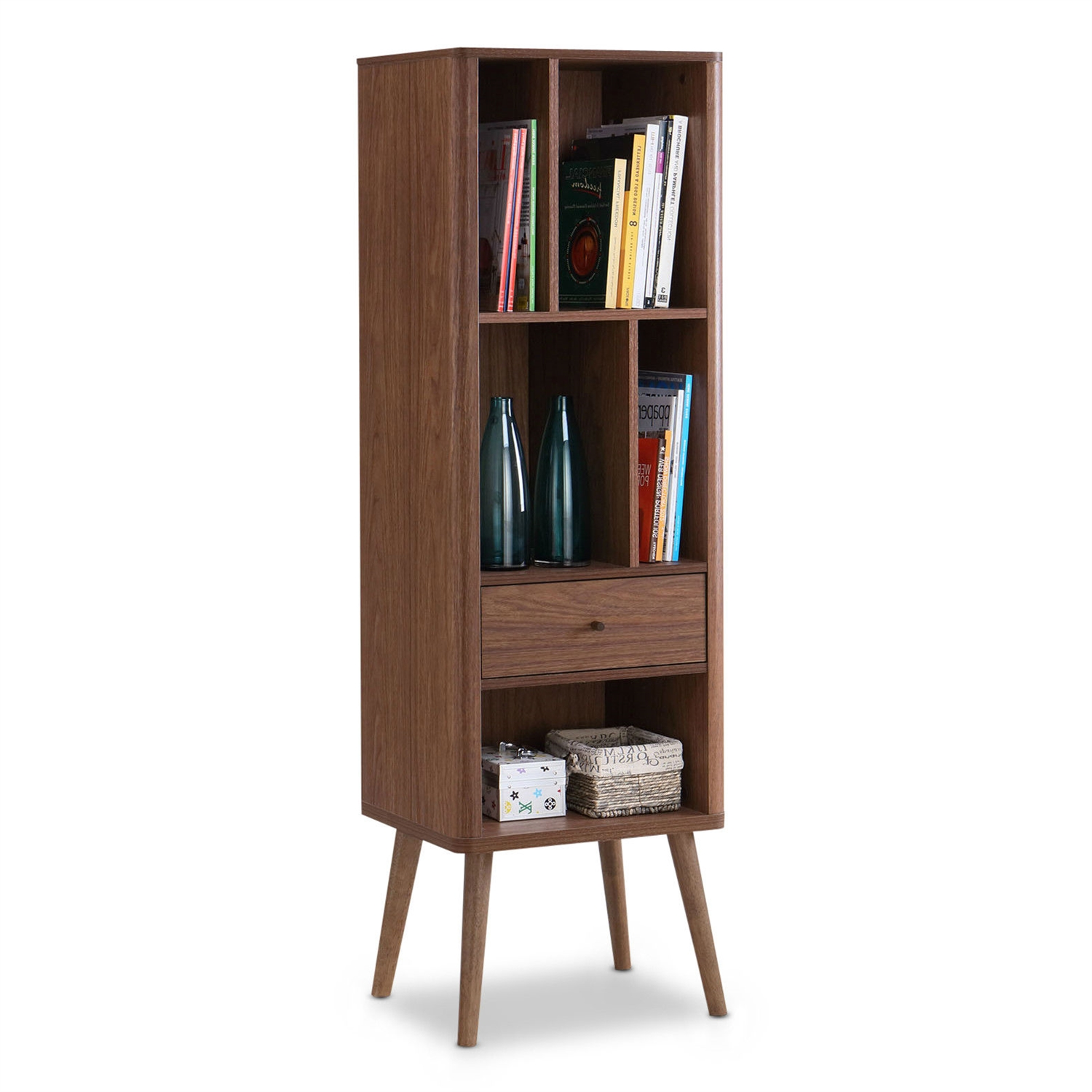 with century related for bookcase brown contemporary doors wooden modern book mid in bookshelves door glass shelves barrister post bookcases