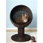 花式猫浓咖啡柳条现代猫床休息室