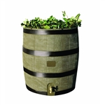 2-in-1 Rain Barrel Planter