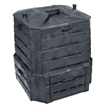 Black Plastic Compost Bin Composter for Home Garden Composting - 94 Gallon