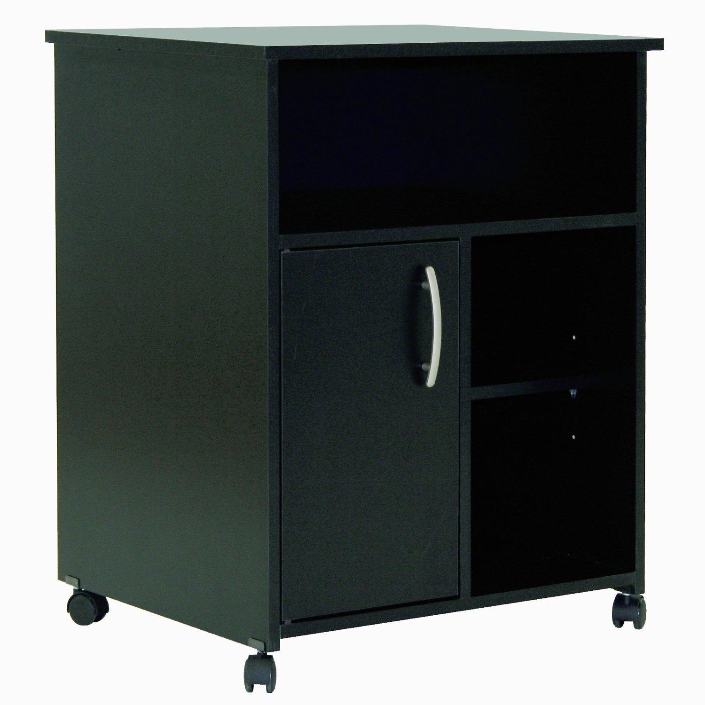 Eco-Friendly Black Printer Stand Cart
