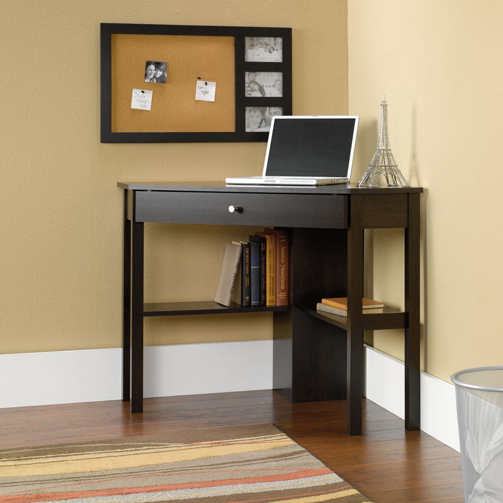 Well-known Space Saving Corner Computer Desk Great for Home Office  NN49