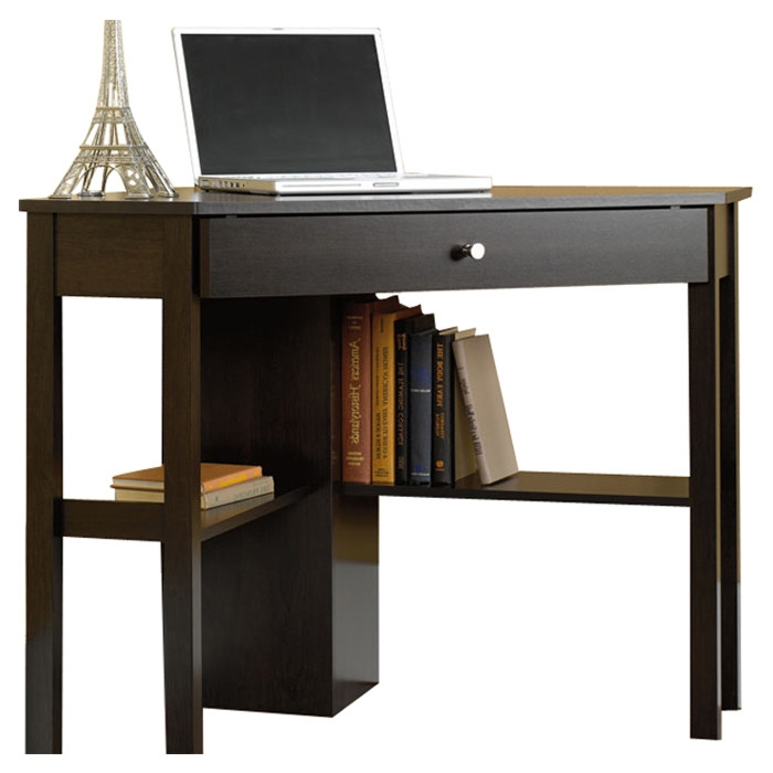 scribed oak effect home retail price 18900 space saving corner computer desk great for home office