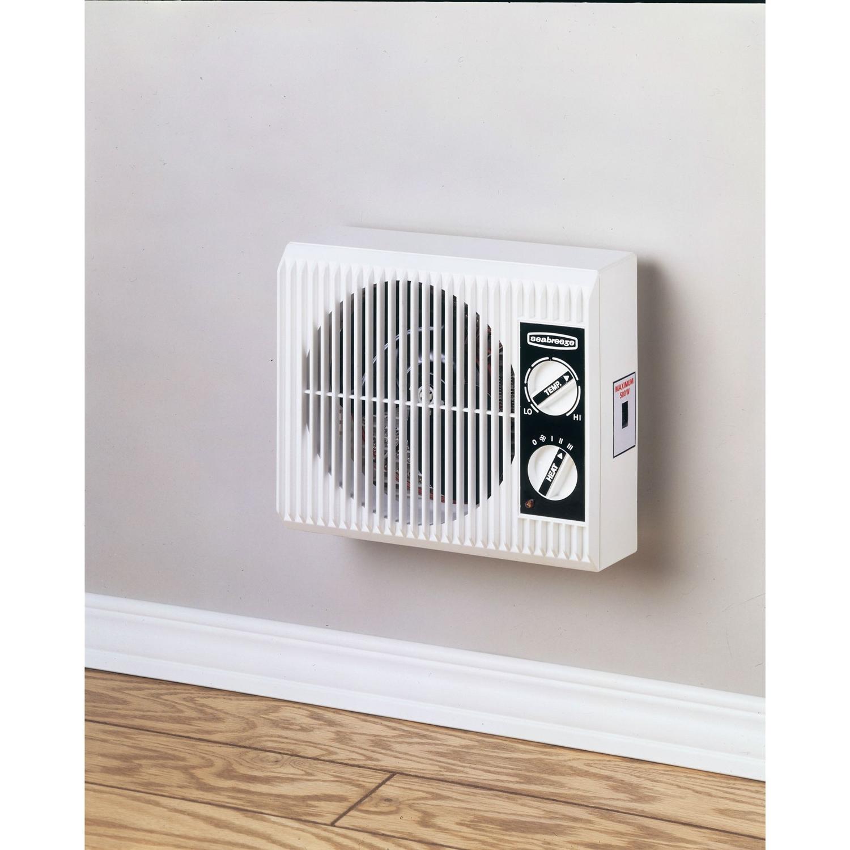 Wall Mount Bedroom Bathroom 1500 Watt Electric Space Heater ...