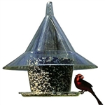 Squirrel-Proof Wild Bird Feeder - Feeds 10 Birds at once