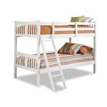 双人房,双人,双层实木床架,白色表面