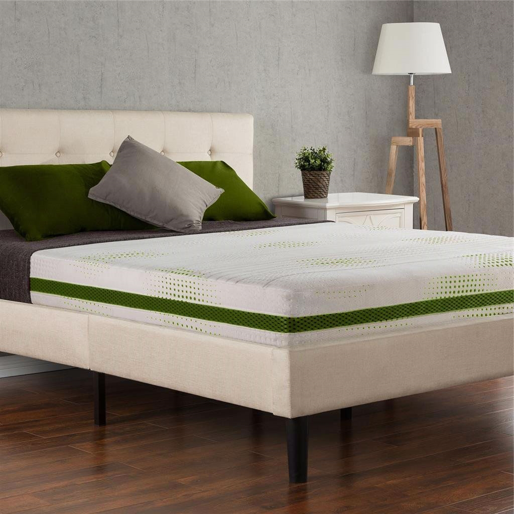 Queen Size 8 Inch Thick Bio Foam Memory Foam Mattress