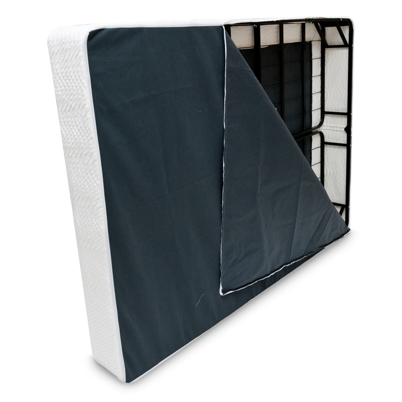 Full Size Metal Boxspring Mattress Foundation With