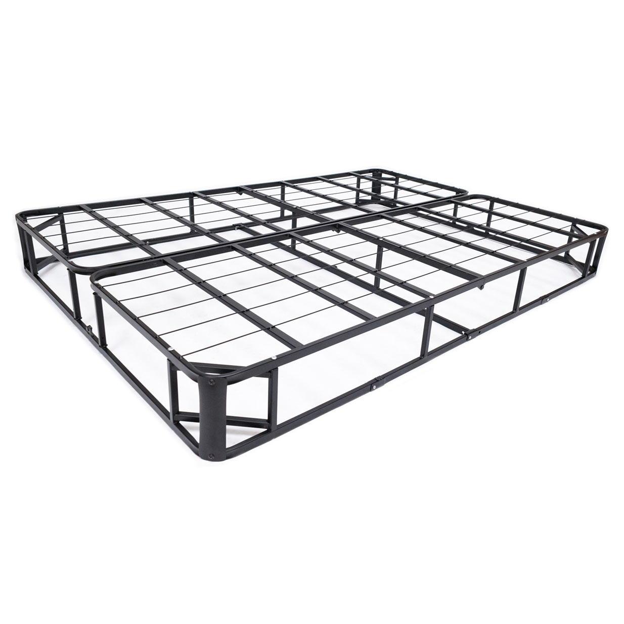 king size metal box spring mattress foundation with cover