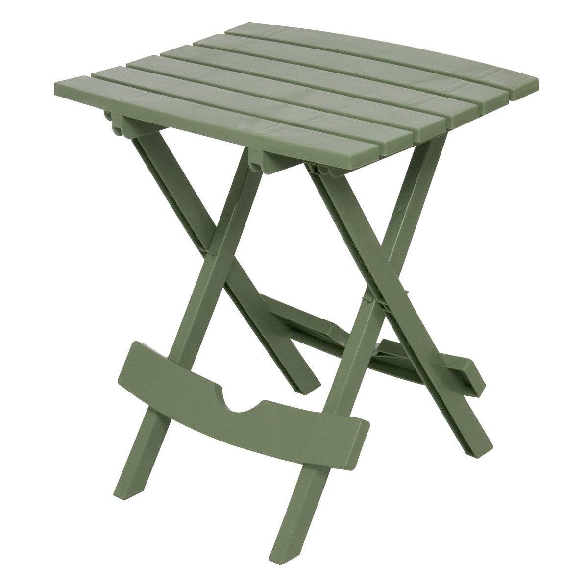 Sage Green Patio Side Table   Holds Up To 25 Pounds