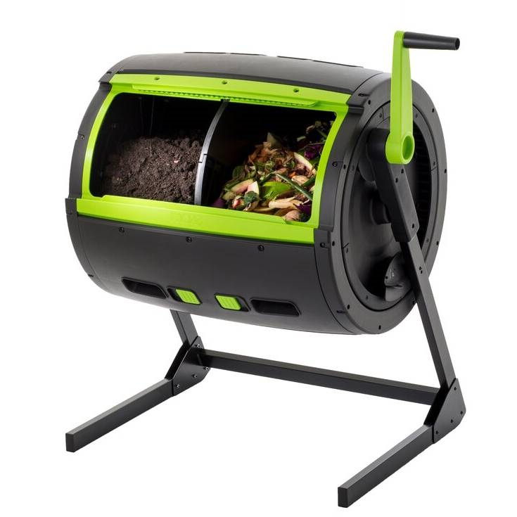 Rotating 65 Gallon Compost Bin Tumbler