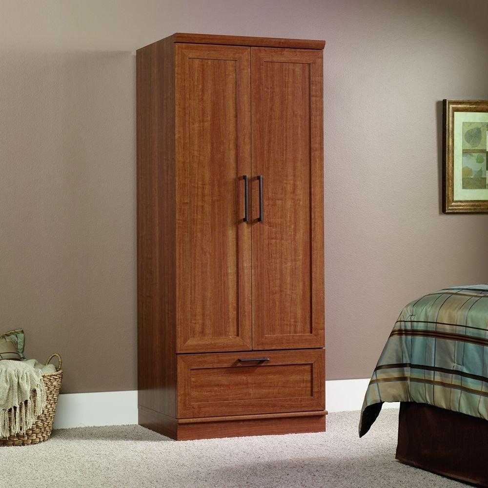 Beau Sienna Oak Wardrobe Clothes Storage Cabinet Armoire