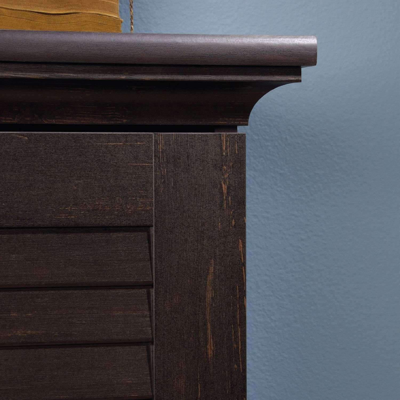 Greatest Multi-Purpose Wardrobe Armoire Storage Cabinet in Dark Brown  LI64