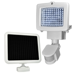 Weatherproof 80-LED Solar Powered Motion Sensor Light