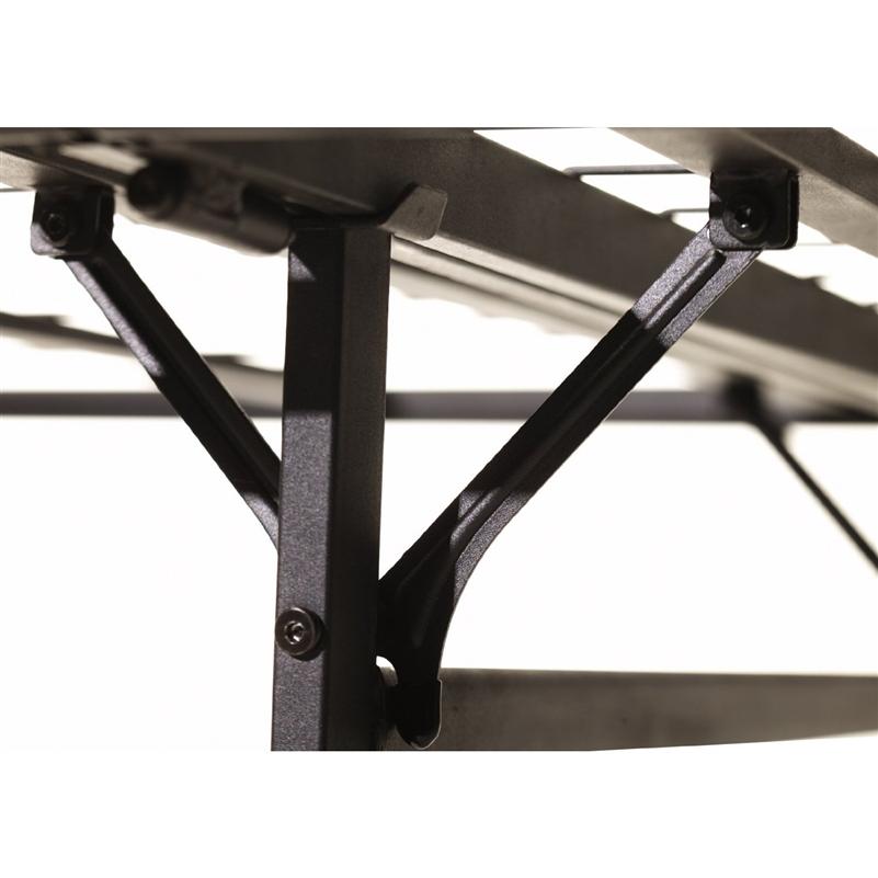 14 Quot High Folding Metal Bed Frame Bi Fold Platform Bed