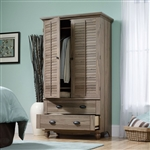 衣柜柜子,卧室储物或电视柜,中棕色橡木饰面