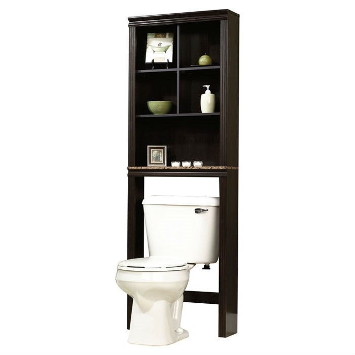 Attirant Over Toilet Bathroom Storage Cabinet Shelves Cubby Etagere