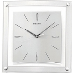 Contemporary 12.25-inch Square Quiet Analog Wall Clock