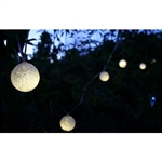 Set of 12 - Solar String Luminous Glow Lights