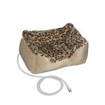 小型宠物猫狗床,带豹纹加厚垫层