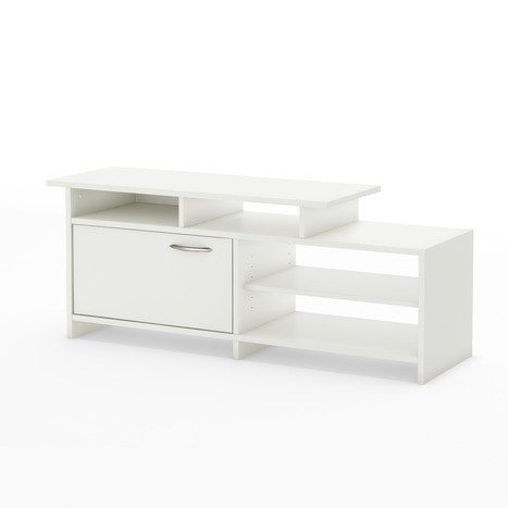 Modern White Tv Stand For Flat Screen Tvs Up To 42 Inch