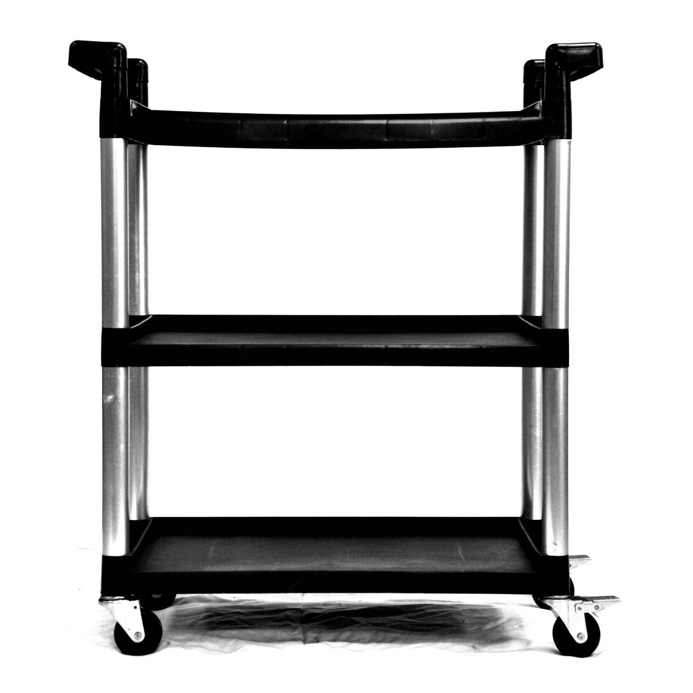 modern table computer home black printer shelf design with desk corner