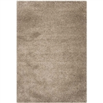 4' X 6' Hand-Tufted Taupe Area Rug