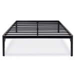 Twin size 18-inch High Rise Round Edge Metal Platform Bed Frame