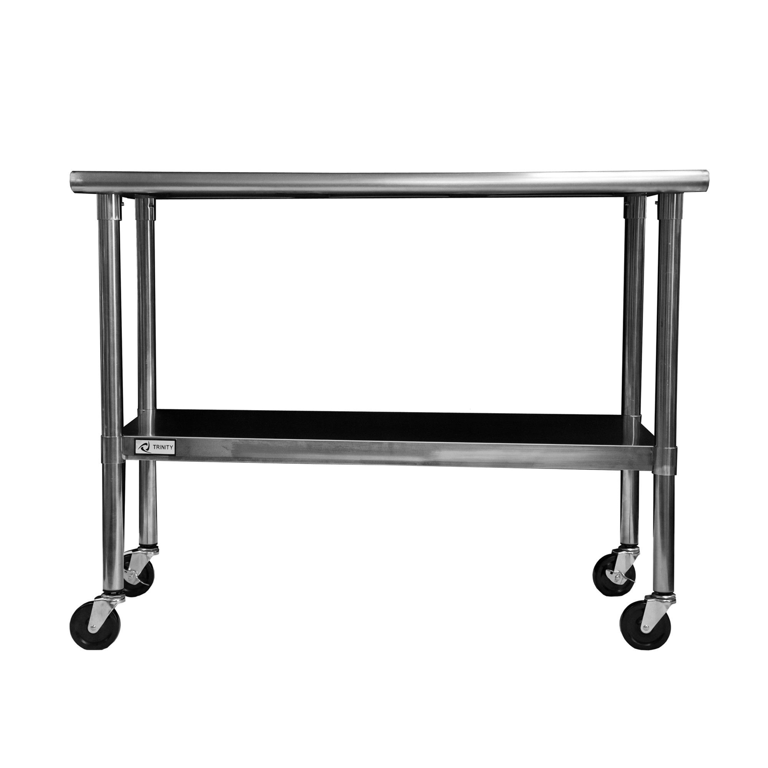 Stainless steel kitchen table top - 2ft X 4ft Stainless Steel Top Kitchen Prep Table With Locking