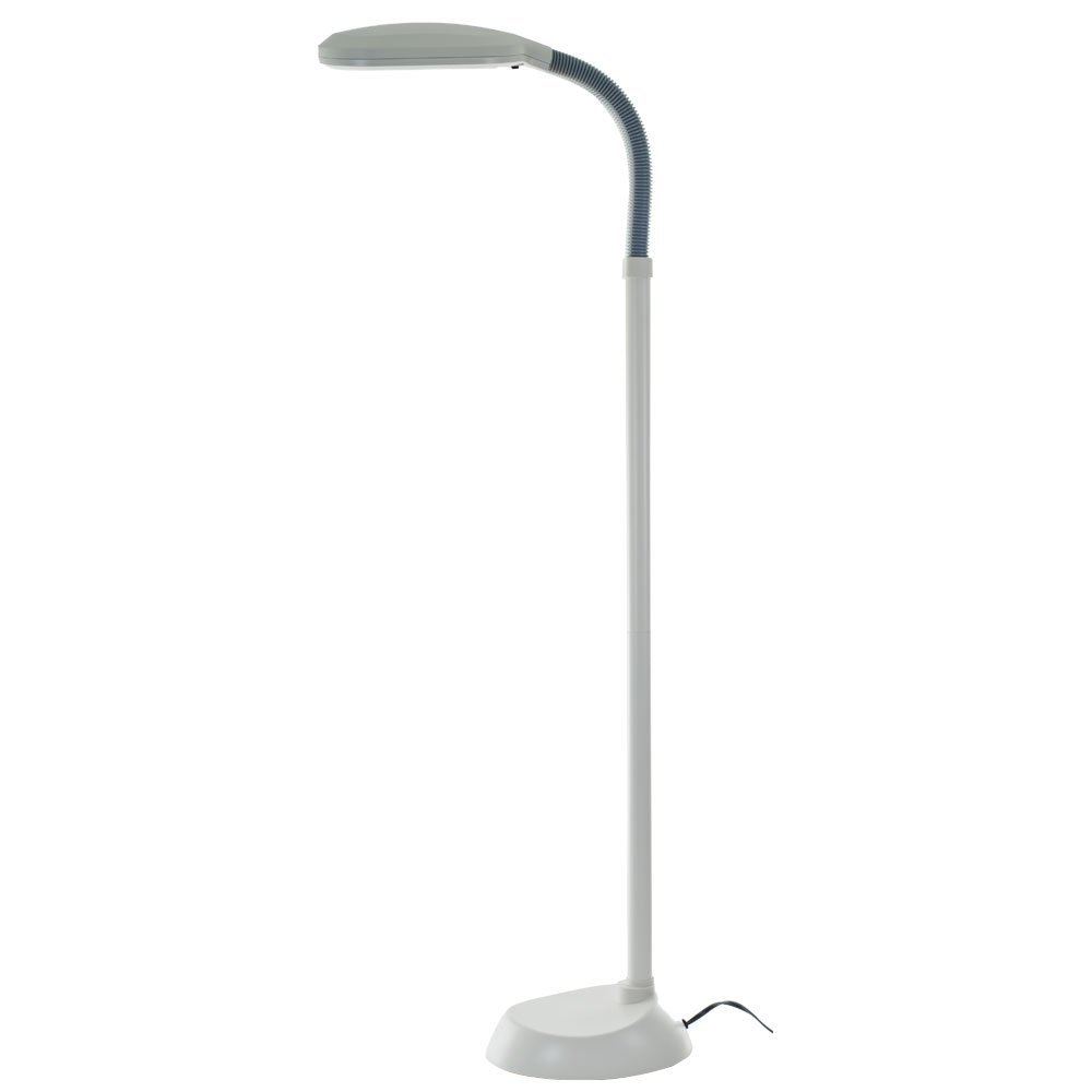 5 Foot Contemporary Floor Lamp With Energy Efficient Light Bulb