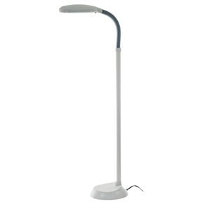 5-Foot Contemporary Floor Lamp with Energy Efficient Light Bulb