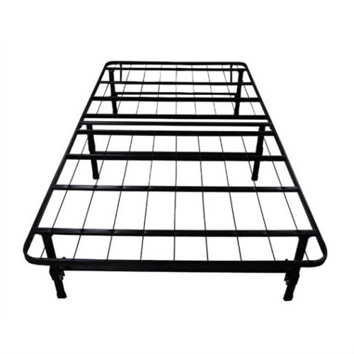 Twin size Black Metal Platform Bed Frame