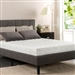 Twin size 8-inch Pocketed Spring Comfort Foam Mattress