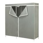 英寸灰色便携式壁橱衣服收纳柜衣柜