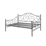 全尺寸金属沙发床框架当代设计沙发床,古铜色