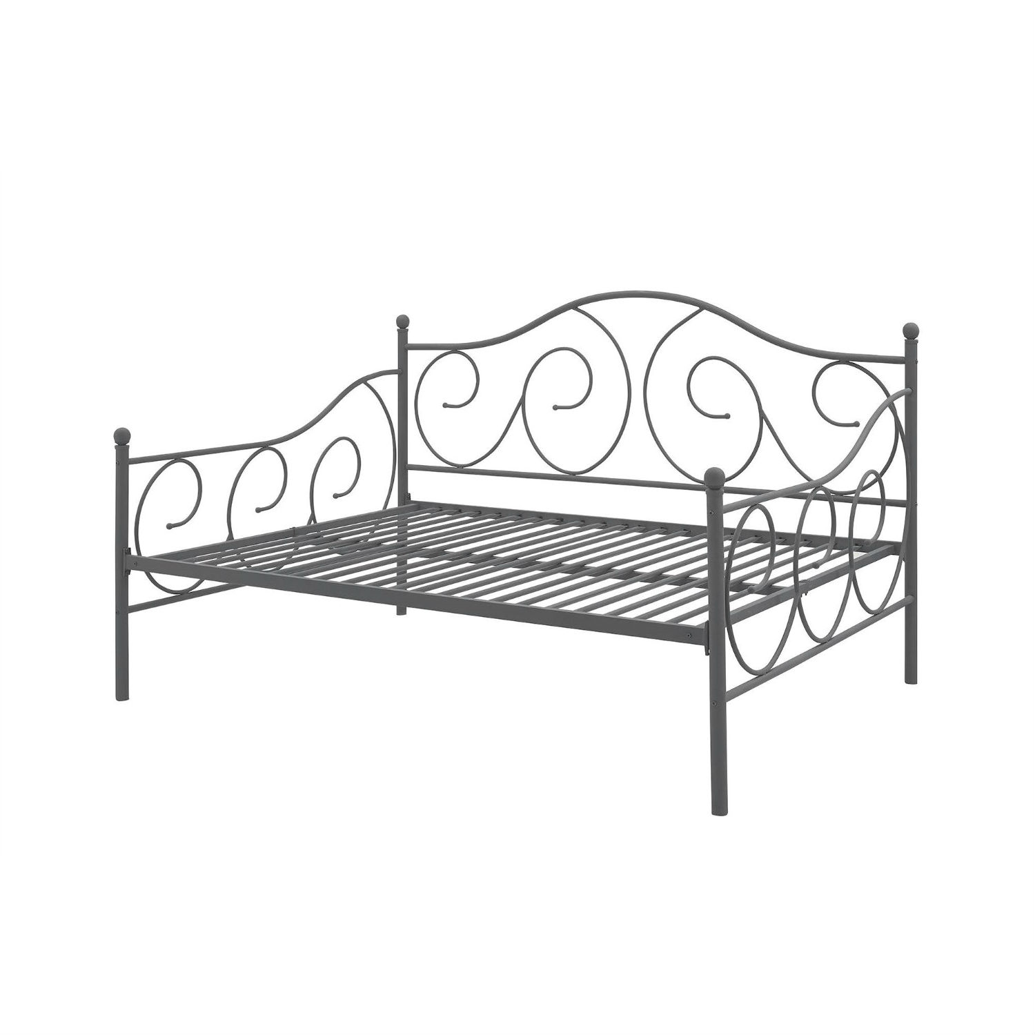 - Full Size Metal Daybed Frame Contemporary Design Day Bed In Bronze
