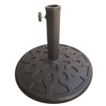 17 lb Resin Umbrella Base