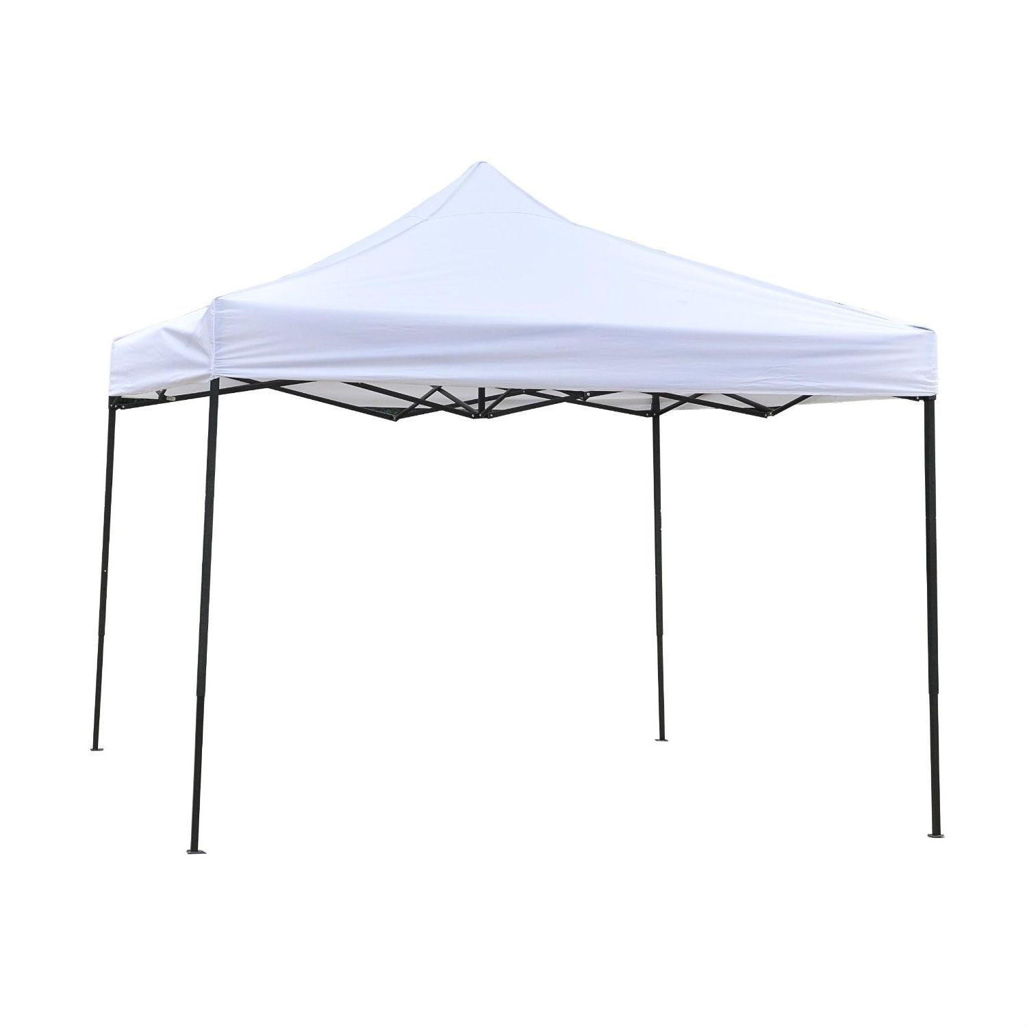 White 10-Ft x 10-Ft Outdoor Water Resistant Canopy with Steel Frame  sc 1 st  FastFurnishings.com & White 10-Ft x 10-Ft Outdoor Water Resistant Canopy with Steel ...