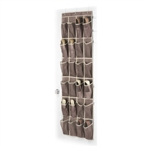 Door Hanging Shoe Rack Organizer with 24 Shoe Pockets in Java