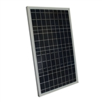 30-Watt Solar Panel 12-Volt Battery Charger For Boat RV Back Up Off Grid