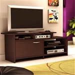 52-inch Modern TV Stand in Chocolate Finish