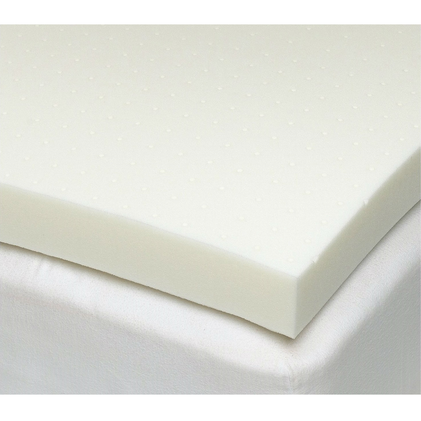 California King Size 3 Inch Thick Ventilated Memory Foam Mattress